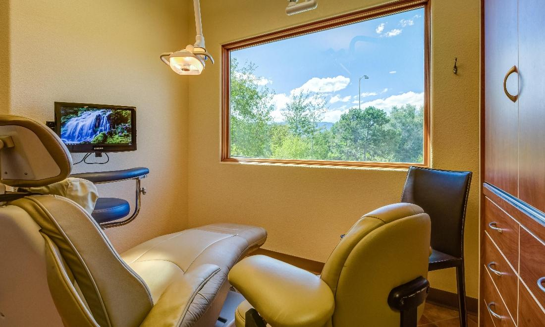 Patient Exam Room at Springs Family Dental in Colorado Springs, CO
